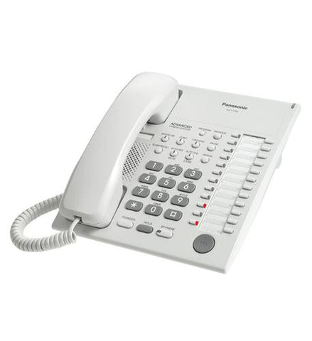 Panasonic Business Telephones KX-T7720 Panasonic Speakerphone WHITE - Peazz.com