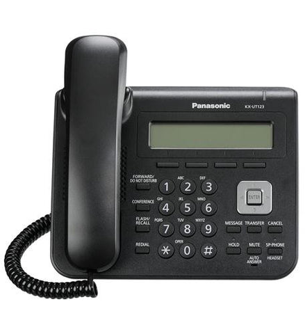 Panasonic Warranty KX-UT123-B BASIC SIP PHONE - Peazz.com