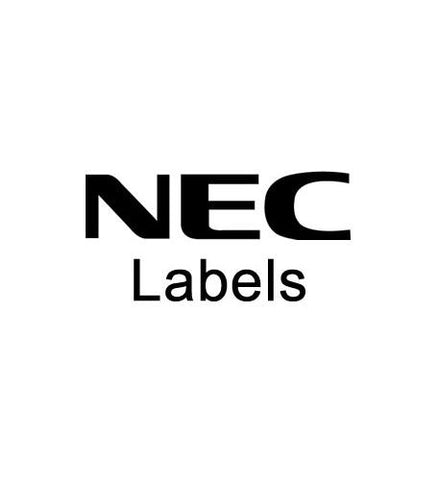 NEC America NEC-80650-DSS 110-Button DSS Labels (10 pk)