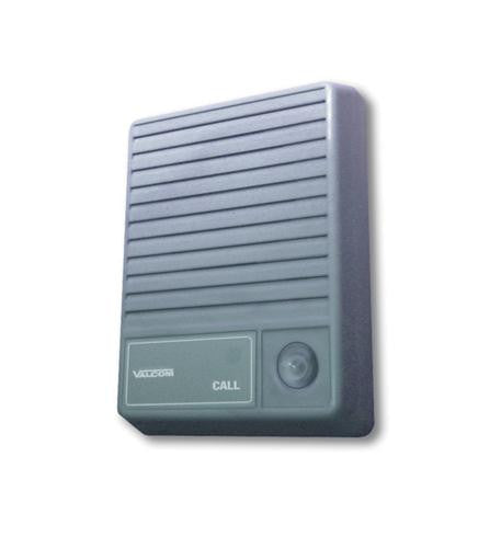 VALCOM VC-V-1074 Talkback Doorplate Surface Speaker- Gray