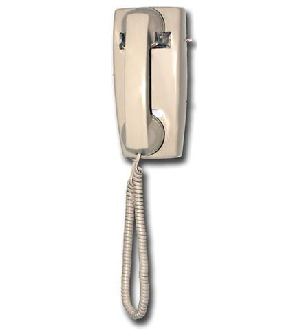 Viking Electronics VK-K-1500P-W-AS No Dial Wall Phone - Ash - Peazz.com