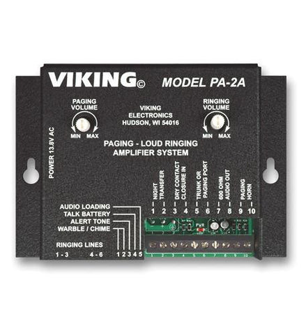 Viking Electronics VK-PA-2A Viking Paging / Loud Ringer - Peazz.com