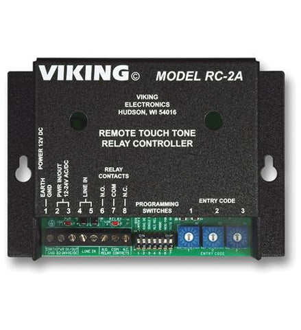 Viking Electronics VK-RC-2A Remote Touch Tone Controller - Peazz.com