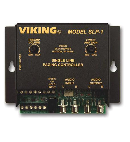 Viking Electronics VK-SLP-1 Viking Single Line Paging Controller - Peazz.com