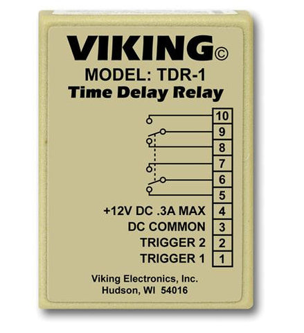 Viking Electronics VK-TDR-1 Viking Time Delay Relay - Peazz.com