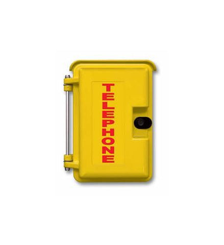 Viking Electronics VK-VE-9x12Y-1 Yellow Heavy-Duty Outdoor Enclosure - Peazz.com