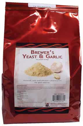 Thomas Labs Brewer's Yeast & Garlic Powder, 5 lb. - Peazz.com