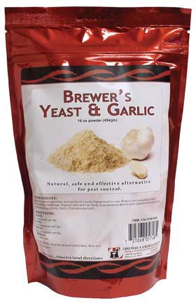 Thomas Labs Brewer's Yeast & Garlic Powder, 16 oz. - Peazz.com