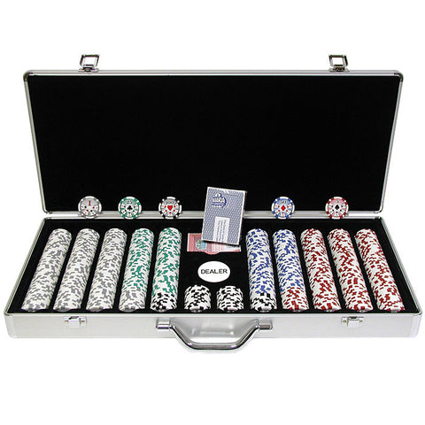 Trademark Commerce 10-0500-650sdx 650 Chip 11.5G High Roller Set W/Executive Aluminum Case - Peazz.com