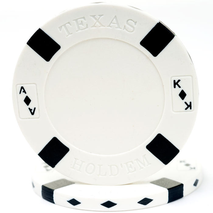 Trademark Poker 10-1700 Big Slick Texas Hold'Em Poker Chip