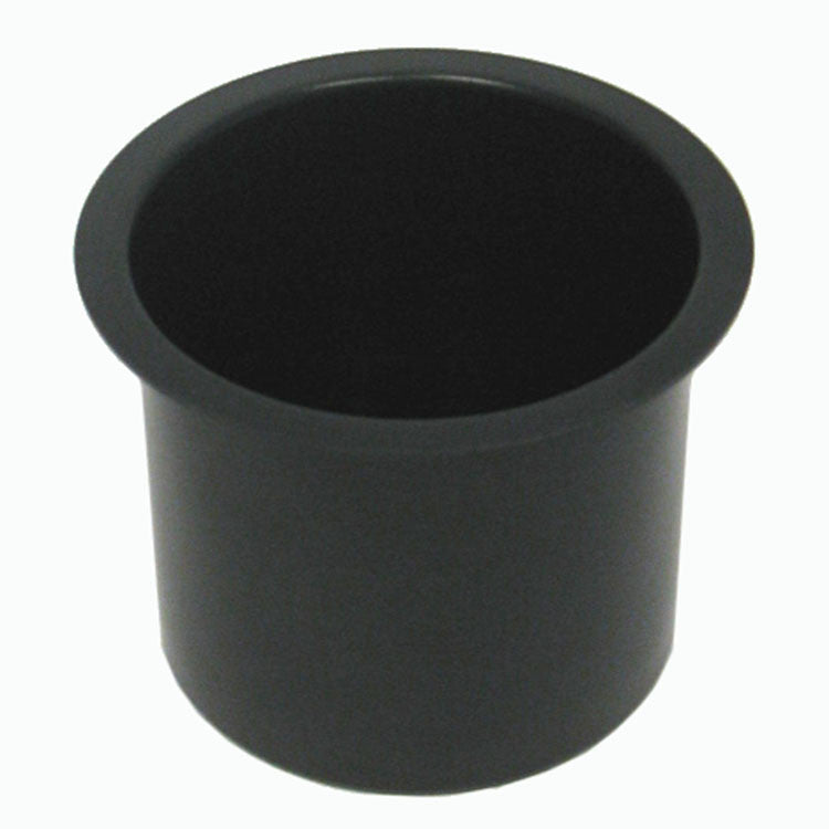 Trademark Poker 10-48201Blk Jumbo Aluminum Black Poker Table Cup Holder TMC-10-48201BLK