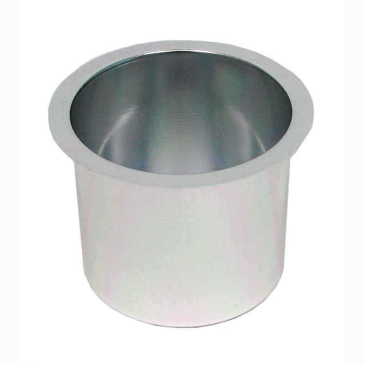 Trademark Poker 10-48201Silv Jumbo Aluminum Silver Poker Table Cup Holder
