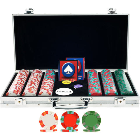 Trademark Commerce 10-6002-300S 300 NexGen Pro Classic Poker Chips W/ Aluminum Case - Peazz.com