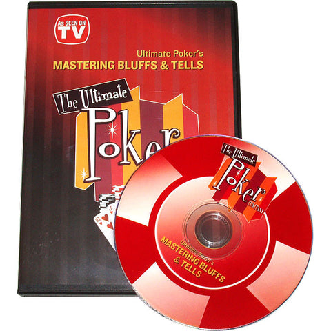 10-Bltellsdvd Mastering Bluffs And Tells Instructional Dvd - Peazz.com