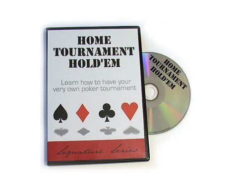 10-Dvdpoker Home Tournament Hold'Em Signature Series Dvd - Peazz.com