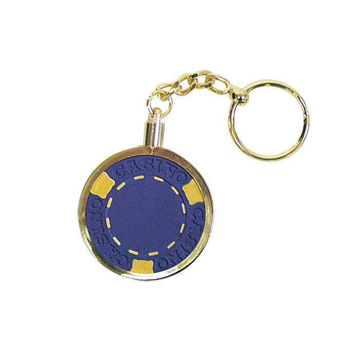 Trademark Poker 10-Kr001 Key Ring Chip Holder TMC-10-KR001