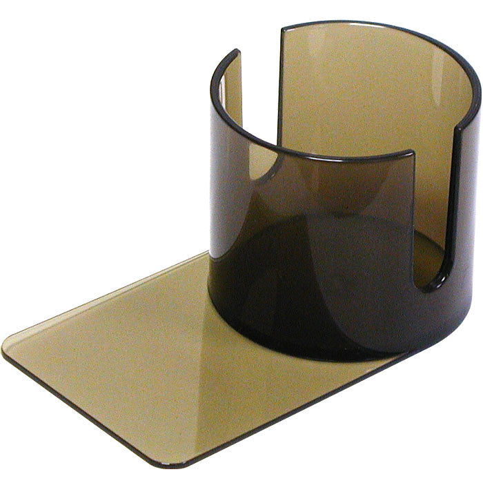 Trademark Poker 10-Nb-Ch002 Plastic Cup Holder - Smoke (Slide Under) W/Cutouts TMC-10-NB-CH002