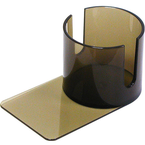 Trademark Poker 10-Nb-Ch002 Plastic Cup Holder - Smoke (Slide Under) W/Cutouts - Peazz.com