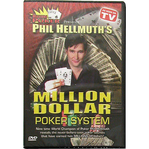 10-Phsys Dvd - Phil Hellmuth'S Million Dollar Poker System - Peazz.com