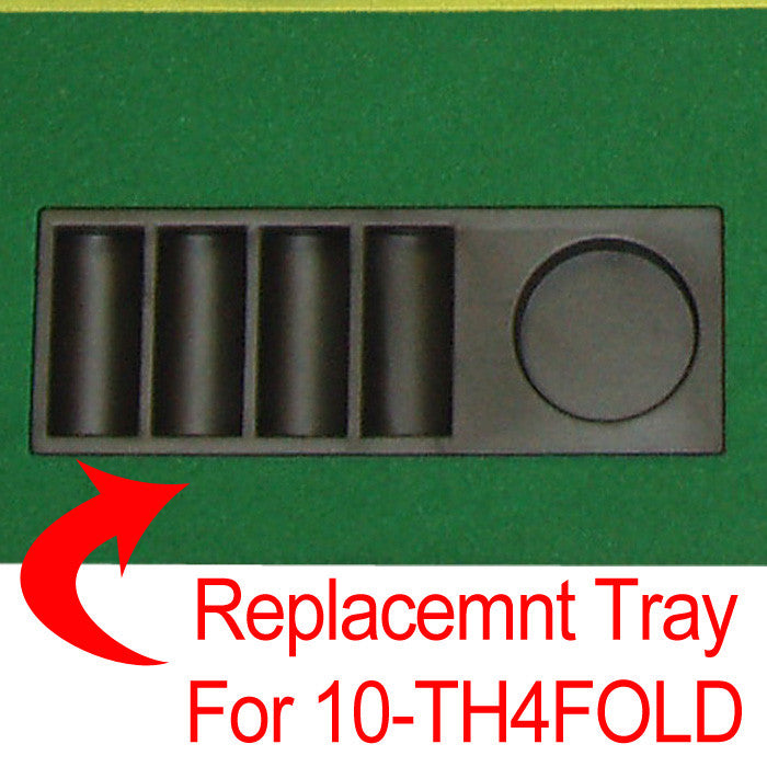 Trademark Poker 10-Thstra Straight Tray For Th4Fold