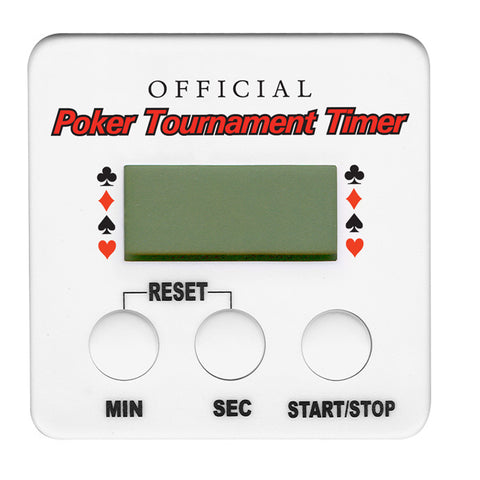 Trademark Poker 10-Timer Official Poker Tournament Timer - Peazz.com