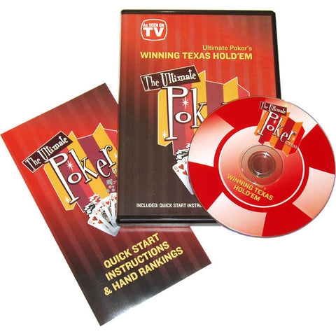 10-Wintxdvd Winning Texas Holdem Instructional Dvd - Peazz.com