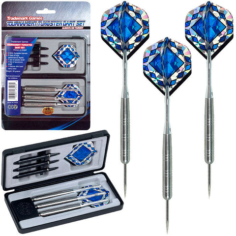 Trademark Commerce 15-2061 TGTTungsten Dart Set - 85% Tungsten - Pro Style Darts - Peazz.com