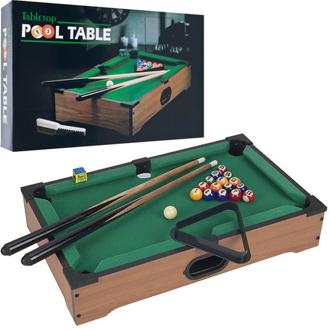 Trademark Commerce 15-3152 Gamest Mini Table Top Pool Table W/ Accessories - Peazz.com