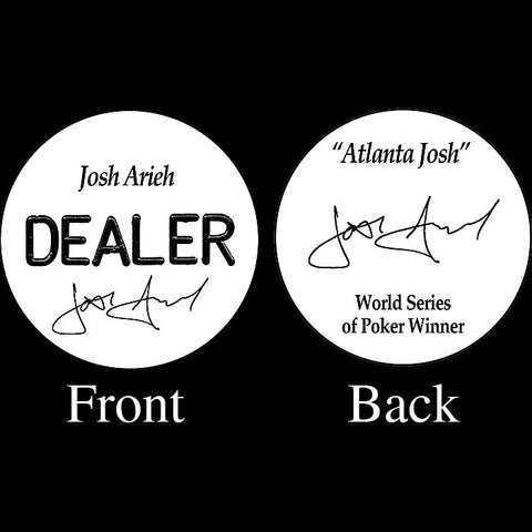 Trademark Poker 16-Ja5500 Josh Arieh Professional Collector'S Dealer Button - Peazz.com