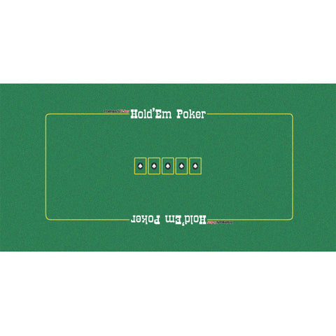 Trademark Poker 416652 Texas Holdem Layout 36In X 72In - Peazz.com