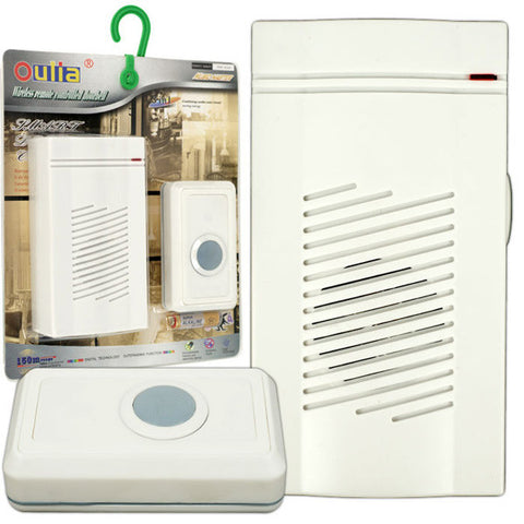 Wireless Remote Control Doorbell with 8 Different Chimes - Peazz.com
