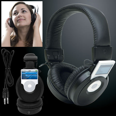 Trademark Commerce 72-4161 iPod Nano Headset Headphones Music Player - Peazz.com