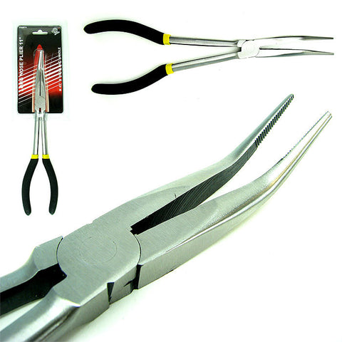 "Trademark Tools 75-8981 Trademark Tools 11"" Long Nose Plier With Long Handle - Peazz.com"