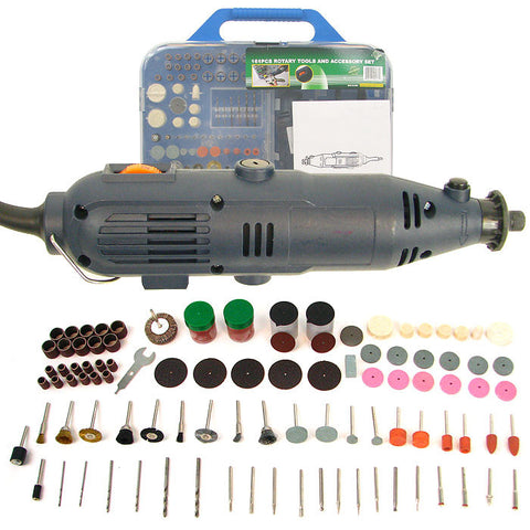 Trademark Tools 75-9910-161 Trademark Tools 161 Piece Rotary Tool Set - Grinds, Drills, - Peazz.com
