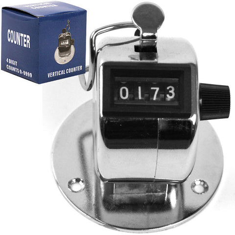 Trademark Tools 75-Counter Trademark Tools Tally Counter Clicker - Handheld Or Base Mo - Peazz.com