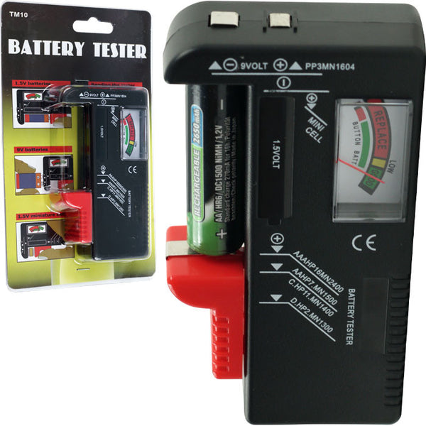 Battery Testers Walmart : Trademark tools tm multi battery tester