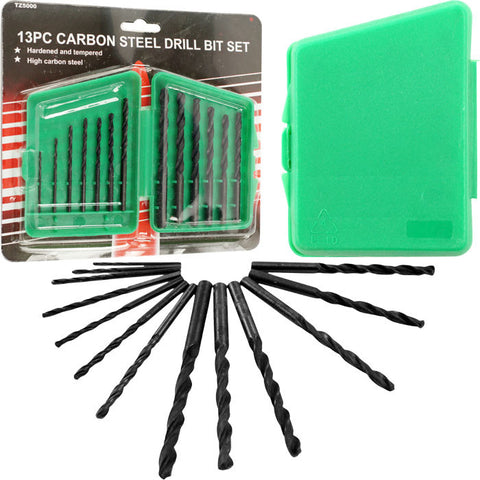 Trademark Tools 75-Tz5000 Trademark Tools Carbon Steel Drill Bit Set W/ Carrying Case - Peazz.com