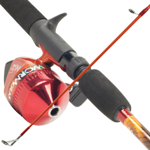 Trademark Commerce 80-7257 South Bend Worm Gear Fishing Rod & Spincast Reel Combo - Peazz.com