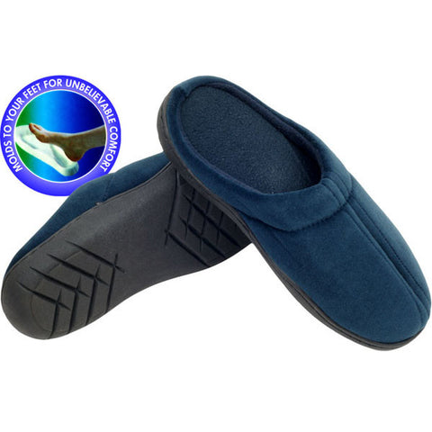 Comfort Pedic Remedy Memory Foam Slippers - Large - Peazz.com