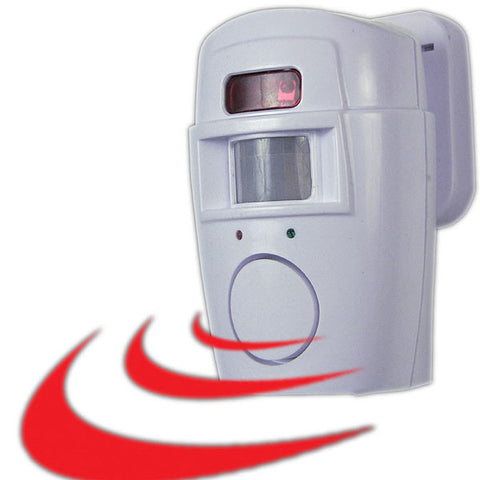 2 In 1 Motion Sensor Alarm and Chime - Peazz.com