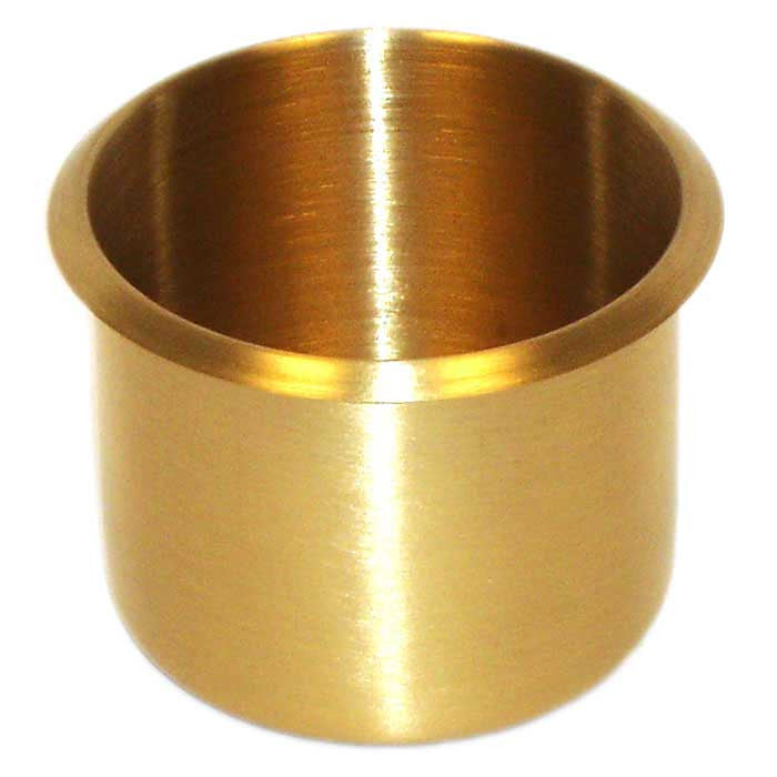 Trademark Poker 917765 Brass Cup Holder
