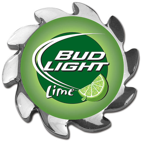 Trademark Poker Abspin-Bllime Bud Light Lime Spinner Card Cover - Silver - Peazz.com