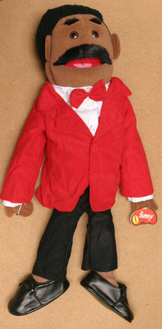 "28"" Dad Puppet Black - Peazz.com"