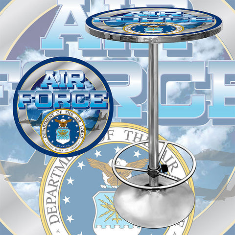 Trademark Commerce USAF2000 US Air Force Pub Table - Peazz.com