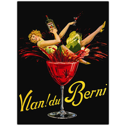 Vlan Du Bernie-Framed 35x47 Canvas Art - Peazz.com