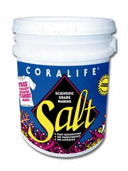 150 Gallon Scientific Grade Sea Salt  pail - Peazz.com
