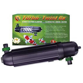 18 Watt Pond Turbo Twist 6x Uv Clarifier - Peazz.com