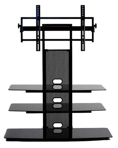 "TransDeco TD550HB Flat Panel TV Mounting System W/ 3 Av Shelves For Up To 60"" Plasma Or LCD/LED TVs - Peazz.com"