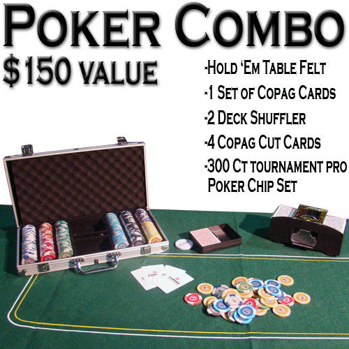 Brybelly ACP-0047 Texas Hold 'Em Poker Combo Pack