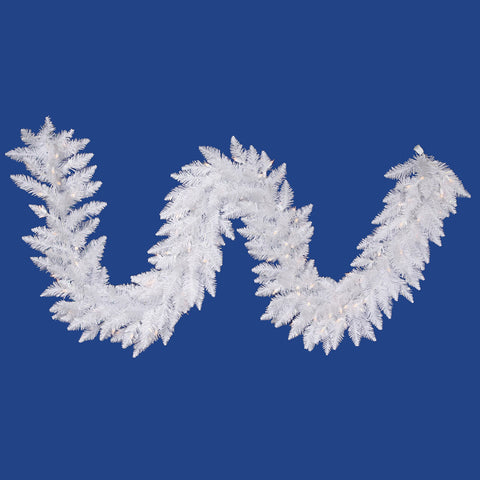 1.2' Vickerman A104215LED Sparkle White Spurce - Sparkle White - Peazz.com